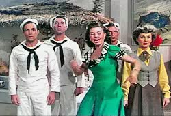 Watch Film Flammers GIF on Gfycat. Discover more *on the town, 1940s, 1949, MGM musicals, ann miller, ann miller needs more love, betty garrett, eternal crush on gene kelly, favorite movie, film, frank sinatra, gene kelly, jules munshin, look at all the shitty gifs I made!, mine, modern man, movie musicals, musicals, on the town, stanley donen, tap dancing, vintage GIFs on Gfycat