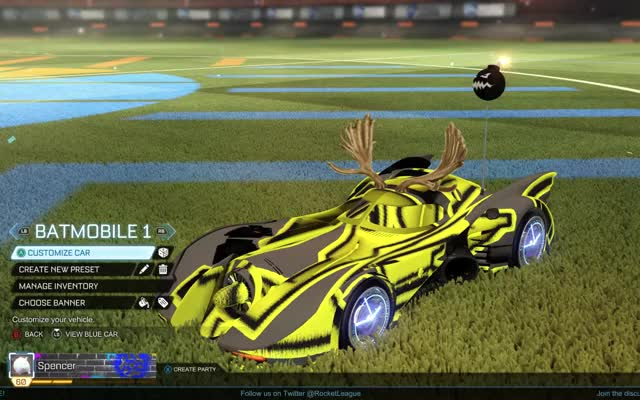 Watch and share Rocket League GIFs and Batman GIFs by pik_d on Gfycat