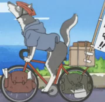 Watch WORK IT GIF on Gfycat. Discover more Shirokuma cafe, animation, gif, my post, polar bear cafe, wolf GIFs on Gfycat