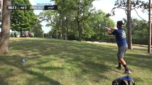 Watch 2018 Ledgestone Insurance Open Rd. 2 AJ Risley putt hole 3 GIF by Benn Wineka UWDG (@bennwineka) on Gfycat. Discover more dgpt, dgwt, disc, disc golf, mcbeast, nate sexton, paul mcbeth, pdga, simon lizotte, tournament GIFs on Gfycat