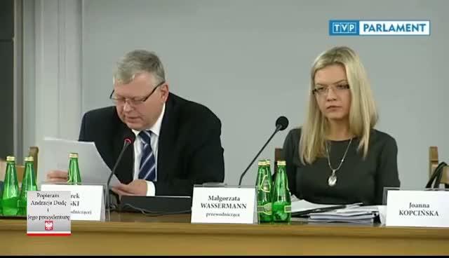Watch Małgorzata Wassermann nie wytrzymała na odpowiedź sędziego GIF on Gfycat. Discover more related GIFs on Gfycat