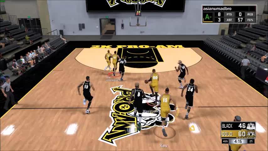 NBA2k, Example 1 GIFs