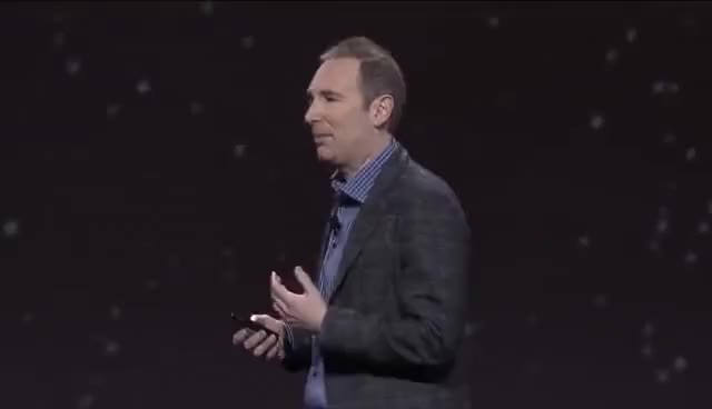 Watch AWS re:Invent 2016 Keynote: Andy Jassy GIF on Gfycat. Discover more related GIFs on Gfycat