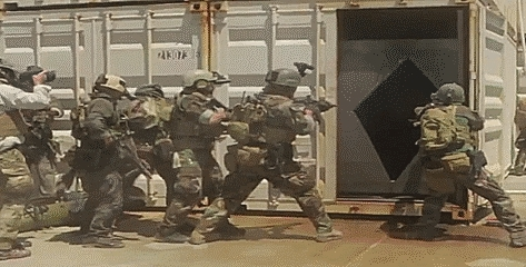 MARSOC, Raiders, camo, gif, m4, marines, military, rifles, room clearing, sof, sopmod, special operations, special ops, weapons, Military GIFs