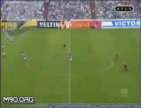 Watch and share Portero Celebra Un Gol Pero No Se Espero Lo Que Iba A Pasar GIFs on Gfycat