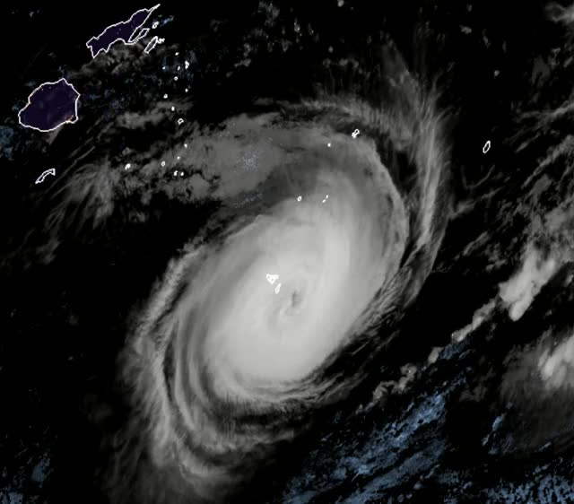 Watch Tropical Cyclone Gita hits Tonga February 12, 2018 GIF by The Watchers (@thewatchers) on Gfycat. Discover more related GIFs on Gfycat