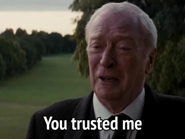 Watch and share The Dark Knight Rises GIFs and Michael Caine GIFs by MikeyMo on Gfycat