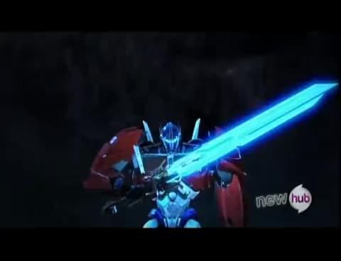 Transformers Prime, Star Saber GIFs