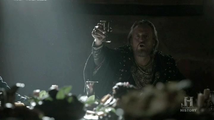 vikingstv, King Ecbert GIFs