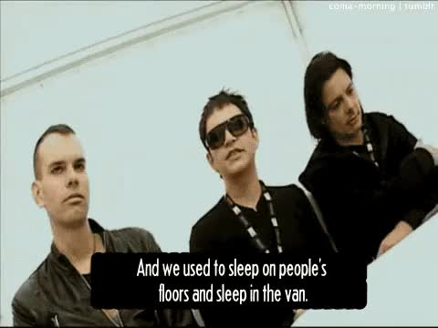 Watch  The Marilyn Manson & Placebo Blog  GIF on Gfycat. Discover more Baby Placebo, Brian Molko, Placebo, Stefan Olsdal, Steve Hewitt, dog shit, funny, gif, gross, interview, old school, quote, toilet tours GIFs on Gfycat