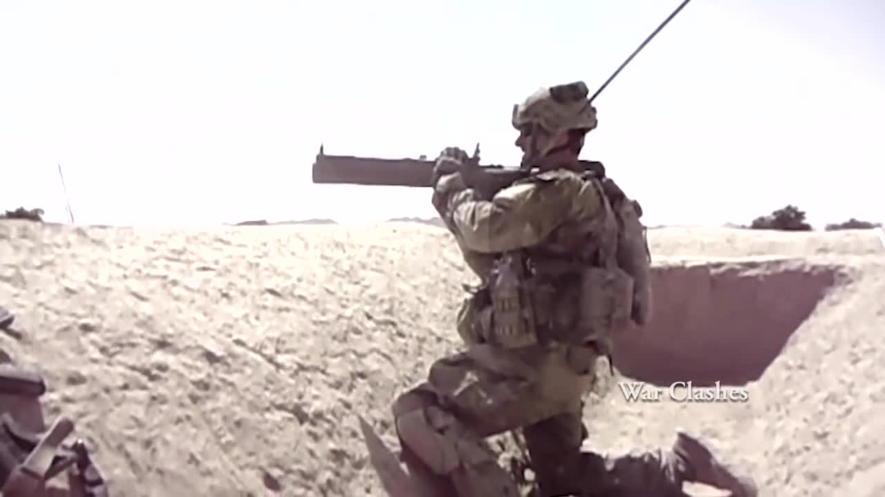 US Troops Combat Footage In Afghanistan Clashes With Taliban Afghanistan War