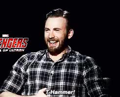 Watch and share Chris Hemsworth GIFs and Chris Evans GIFs on Gfycat