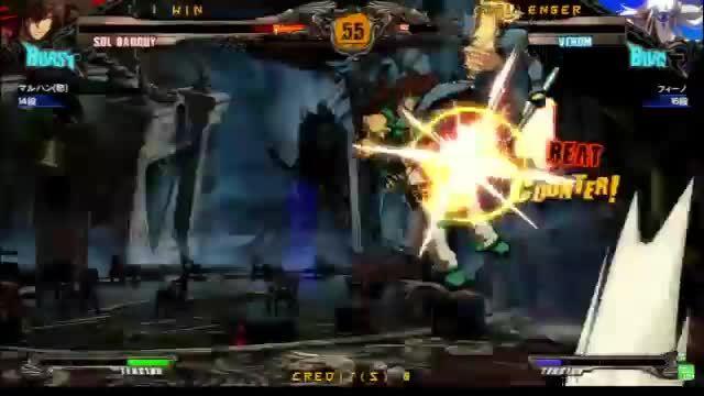guiltygear, sol, venom, Revelator Venom notes 2 GIFs