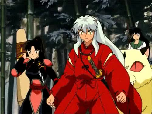 Watch Red bladed Tessaiga GIF on Gfycat. Discover more anime, awesome, barrier, cool, gif, glory in fire, inuyasha, kagome, kirara, red tessaiga, sango, tessaiga GIFs on Gfycat