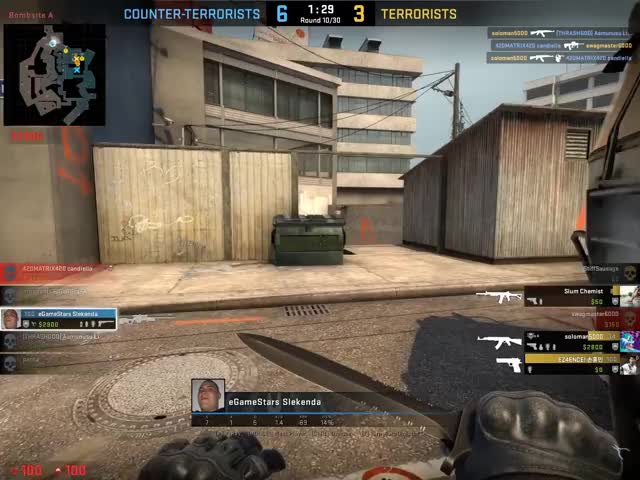 Watch clutch overpass 1vs3 GIF on Gfycat. Discover more related GIFs on Gfycat