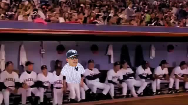 Watch Girardis in the Outfield GIF on Gfycat. Discover more NYYankees, baseball GIFs on Gfycat