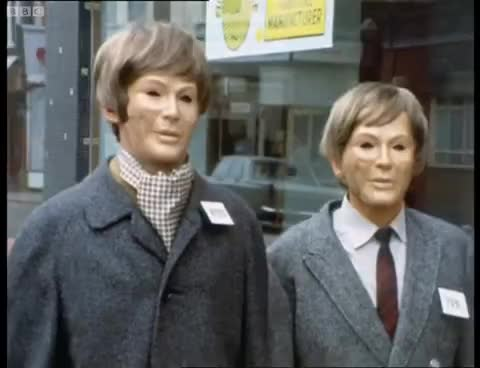 The Autons Activate - Doctor Who - Spearhead from Space - BBC GIFs
