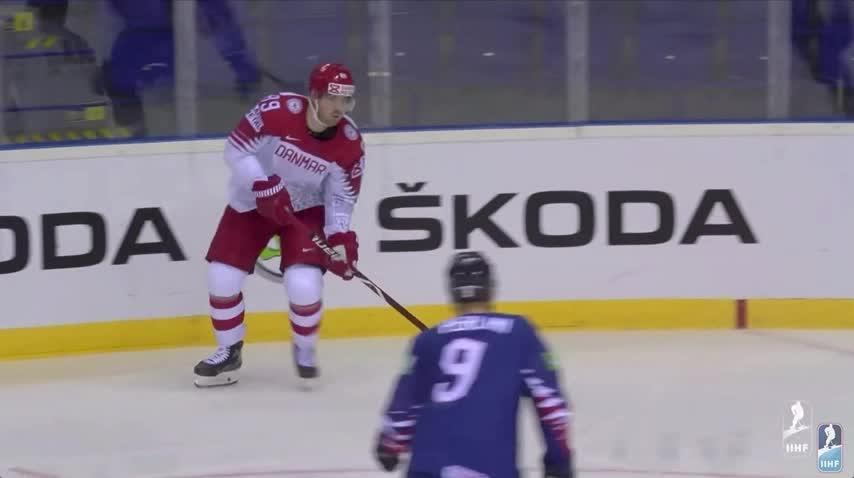 Lars Eller's goal against Great Britain IIHF GIFs