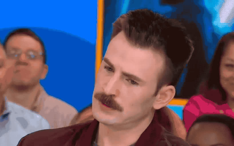 america, annoyed, avengers, chris, confused, do, evans, good, hmm, infinity, mad, mean, morning, not, sure, surprised, wait, what, wtf, you, Chris Evans is confused GIFs
