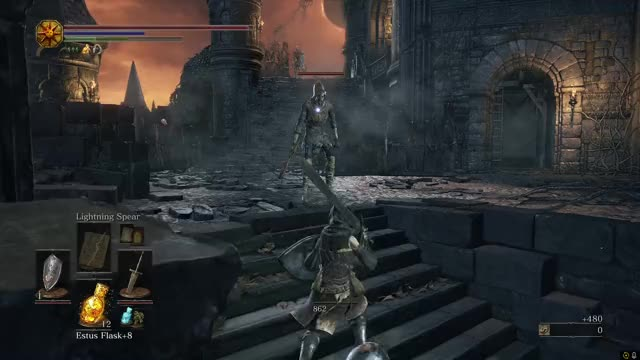 Watch and share Ashen One GIFs and Gaming GIFs by onicss on Gfycat
