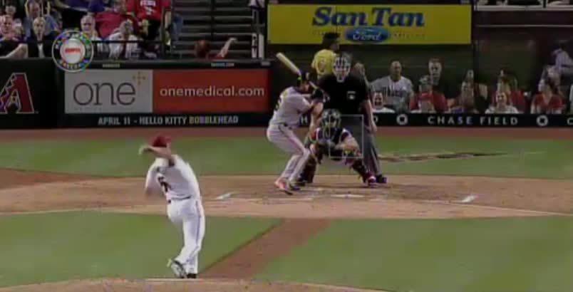 baseballgifs, Pagan's RBI single GIFs