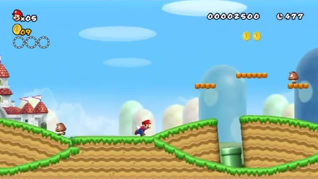 Watch and share New Super Mario Bros. Wii - World 1 (Part 1 Of 4) GIFs on Gfycat