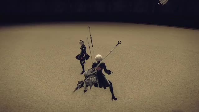 Watch and share Nier Automata GIFs by Arasutoru on Gfycat
