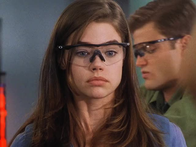 Watch and share Starship Troopers GIFs and Denise Richards GIFs by zkenpachiz on Gfycat