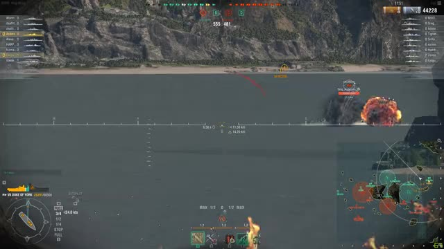 Watch and share World Of Warships 2018.04.14 - Short GIFs by Asikes on Gfycat