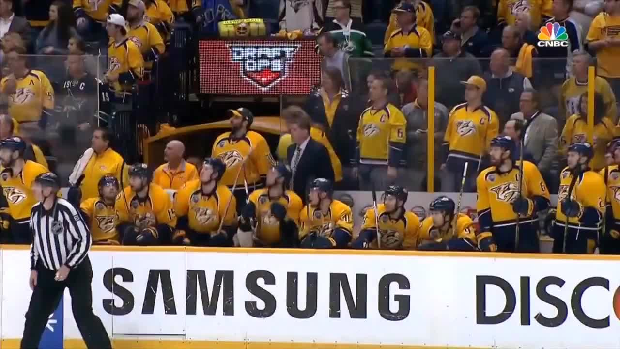 3ot, NHL, Playoffs, Preds, goal, hockey, nashville, predators, sharks, Predators 3OT Goal GIFs