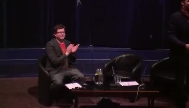Watch Rory McCann Hugs Fan GIF on Gfycat. Discover more Glasgow Film Festival, Rory McCann, Sandor Clegane GIFs on Gfycat