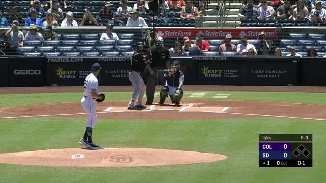 Watch and share Colorado Rockies GIFs and San Diego Padres GIFs by craigjedwards on Gfycat