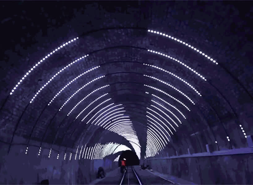 tunnel LED GIFs