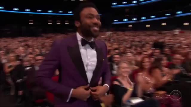 Watch Donald Glove wins Best Actor in a Comedy Series. GIF by @tsubaki on Gfycat. Discover more EmmyAwards2017, Emmys, Emmys2017 GIFs on Gfycat