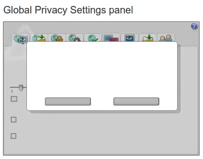Watch and share Adobe Flash Player Global Privacy Settings Panel GIFs by denilsonsa on Gfycat