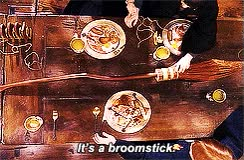 Watch and share Ps Harry Hermione Ron Minerva Caioposts Nimbus 2000 GIFs on Gfycat