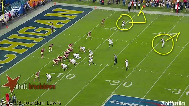 Watch and share Jourdan Lewis (Michigan) Vs. Florida State (2016) GIFs by sio-kedelic on Gfycat