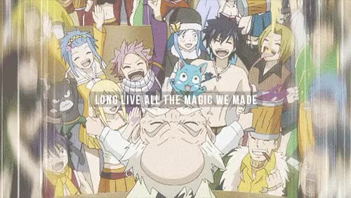 Watch and share Fairy Tail Gildarts GIFs and Fairy Tail Mystogan GIFs on Gfycat