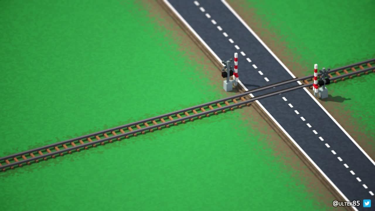 funny, gamedev, lol, voxel, wtf, I like trains GIFs