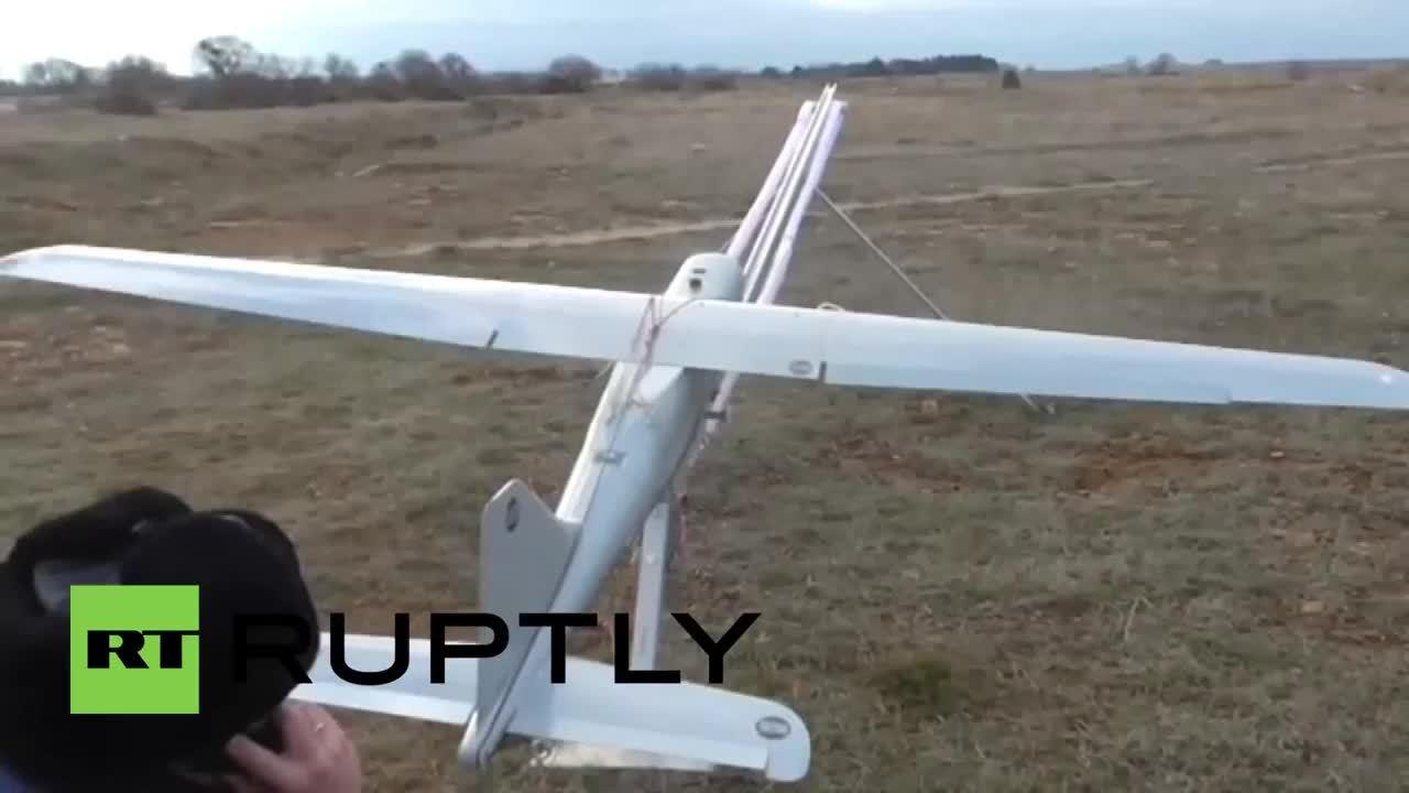 WarplaneGfys, warplanegfys, Russian Orlan-10 Drone during testing. (reddit) GIFs
