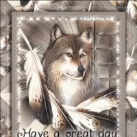 Watch wolf great day GIF on Gfycat. Discover more related GIFs on Gfycat