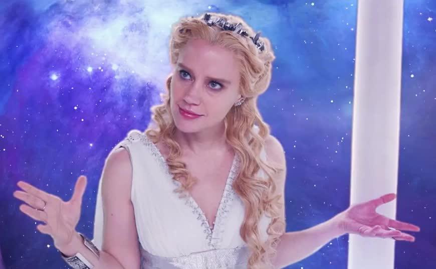 creation, funny, goddesses, look, snl, wait, what, Goddesses of Creation - SNL GIFs