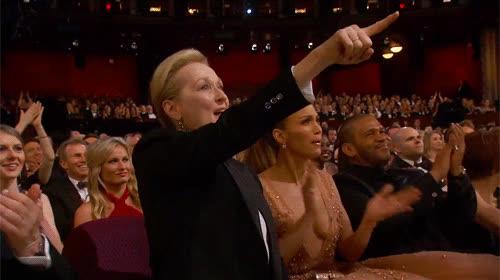 approval, awesome, meryl streep, oscars, yas, yes, Meryl Streep Oscars GIFs