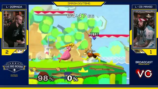 Mang0 Wins The Big House 6!