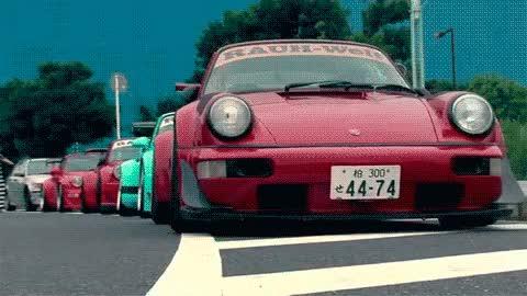 Watch and share My Gif Porsche Welt Rwb Rauh Welt Rauh GIFs on Gfycat