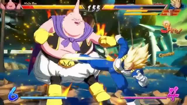 NEW GAMEPLAY!! Super Saiyan Vegeta FINAL FLASH & Super Saiyan 2 Teen Gohan | DRAGON BALL FIGHTERZ