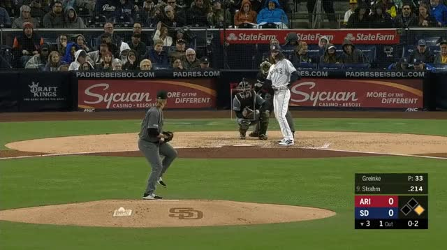 Watch and share Greinke Strahm Sacrifice GIFs by _ben_clemens on Gfycat