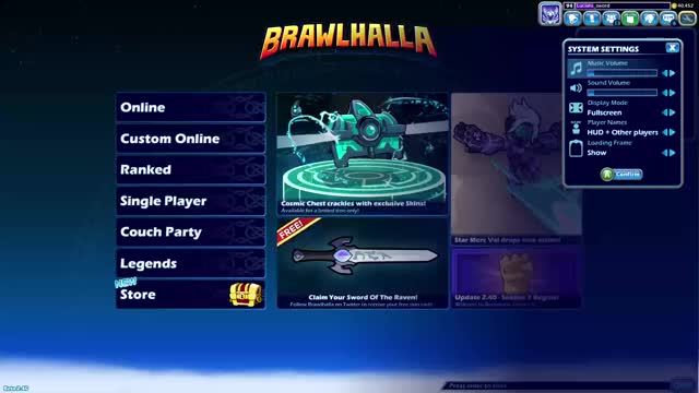 Watch and share Video Game GIFs and Brawlhalla GIFs on Gfycat