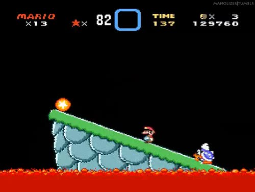 Watch and share Super Mario World Super Nintendo Gif GIFs on Gfycat