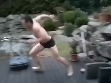 Watch Jumping into frozen pool. Kinda. (reddit) GIF on Gfycat. Discover more hadtohurt GIFs on Gfycat